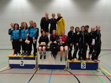 Gruppenfoto Indiaca Turnier in Niederrohrdorf 2018
